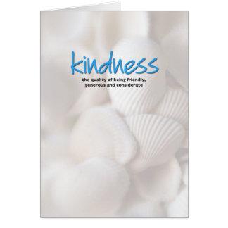 Kindness Definition Inspiration Card