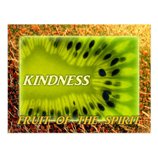 KINDNESS Fruit of the Spirit Postcard