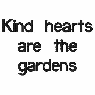 Kindness Garden Embroidered Shirt