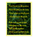Kindness Garden Postcard