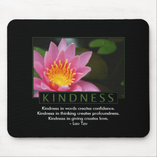 Kindness Inspirational Mouse Pad