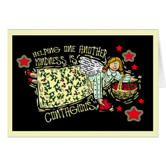 KINDNESS IS CONTAGIOUS GREETING CARD