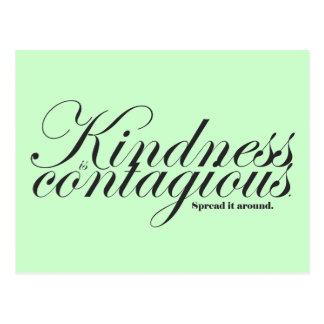 Kindness is Contagious Postcard