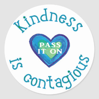 Kindness is Contagious Sticker
