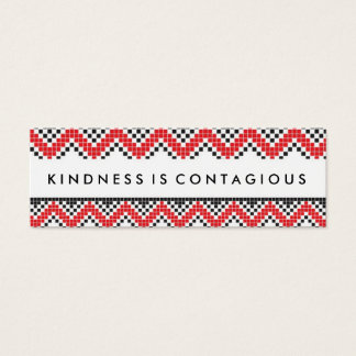 Kindness Is Contaigous Challenge Card