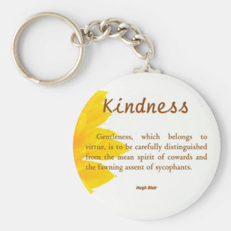 Kindness is Gentle Key Chain