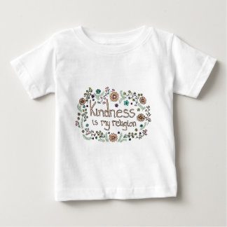 Kindness is my religion mori baby T-Shirt