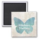 Kindness Matters Butterfly Fridge Magnets