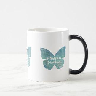 Kindness Matters Butterfly Magic Mug