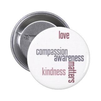 Kindness Matters Buttons