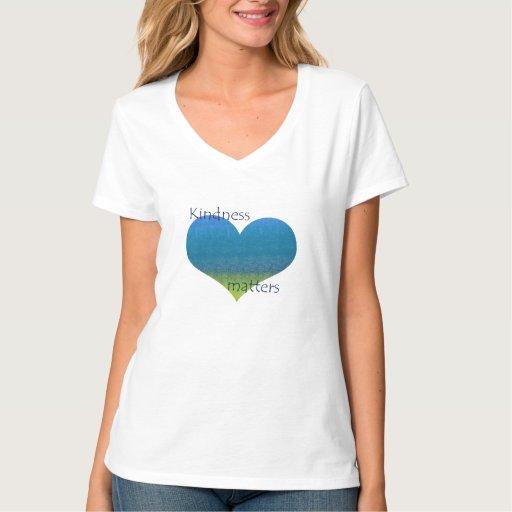 Kindness Matters Heart T-Shirt