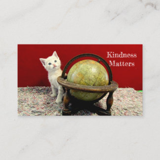 Kindness Matters Thank You Business Cards