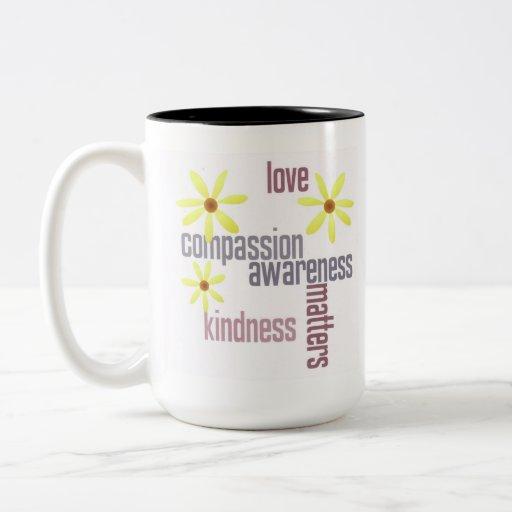 Kindness Matters Two-Tone Coffee Mug