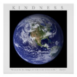 KINDNESS - Motivational Print w. Gandhi quote