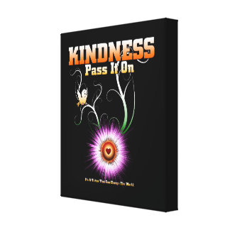 KINDNESS - Pass It On Canvas Print