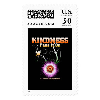 KINDNESS - Pass It On Postage Stamp