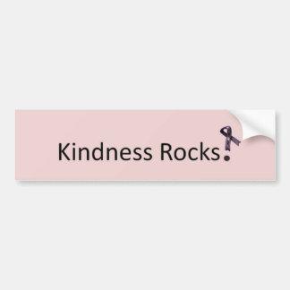 Kindness Rocks Car Bumper Sticker