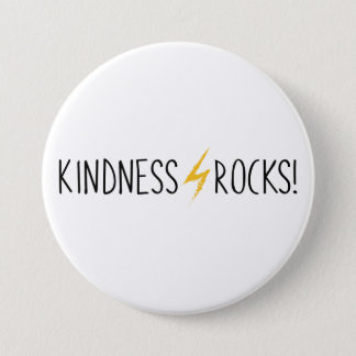 Kindness Rocks Simple Logo Button