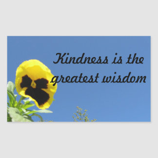 Kindness Wisdom Sticker