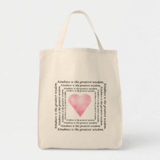 Kindness Wisdom Tote Bag