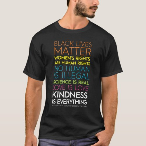 KindnessIsEverything Dark Tee