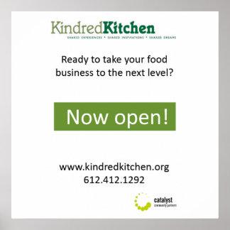 Kindred Kitchen Poster option 1