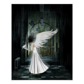 Kindred Spirit Gothic Art Poster