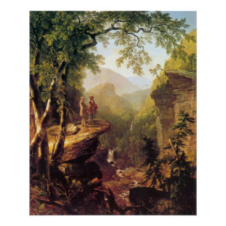 Kindred spirits by Asher Brown Durand Poster