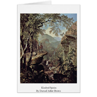Kindred Spirits By Durand Asher Brown Greeting Cards