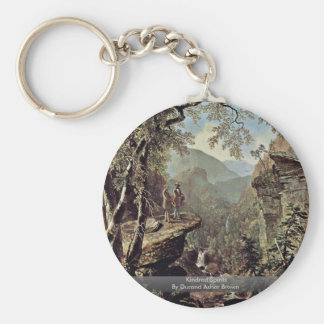 Kindred Spirits By Durand Asher Brown Key Chain