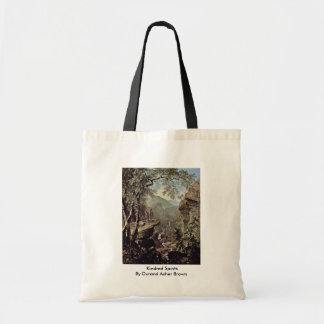 Kindred Spirits By Durand Asher Brown Tote Bag