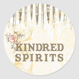 Kindred Spirits Classic Round Sticker