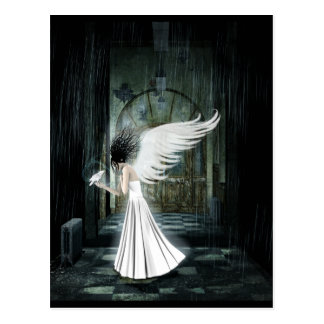 Kindred Spirits Gothic Art Postcard