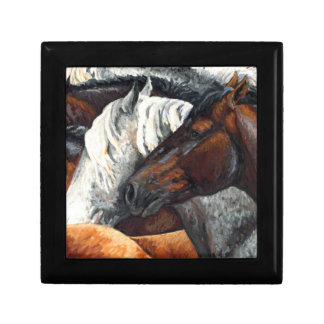 Kindred Spirits - Horse Herd Jewelry Box