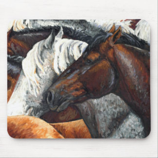 Kindred Spirits - Horse Herd Mouse Pad