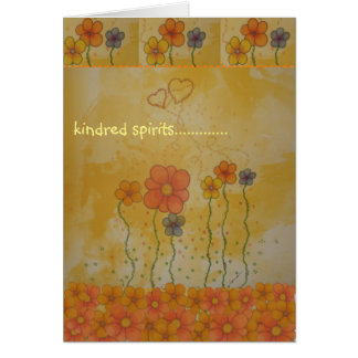 Kindred Spirits Just Because Card Greeting Card
