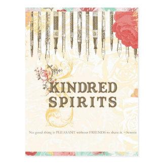 Kindred Spirits Postcard