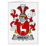 Kinealy Family Crest Greeting Card