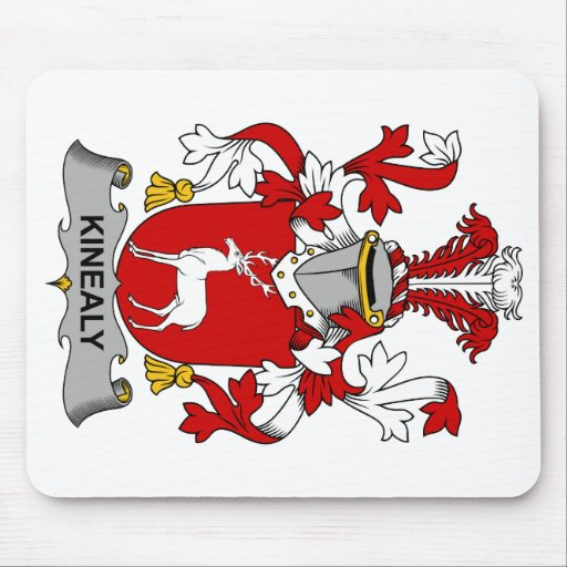 Kinealy Family Crest Mouse Pad