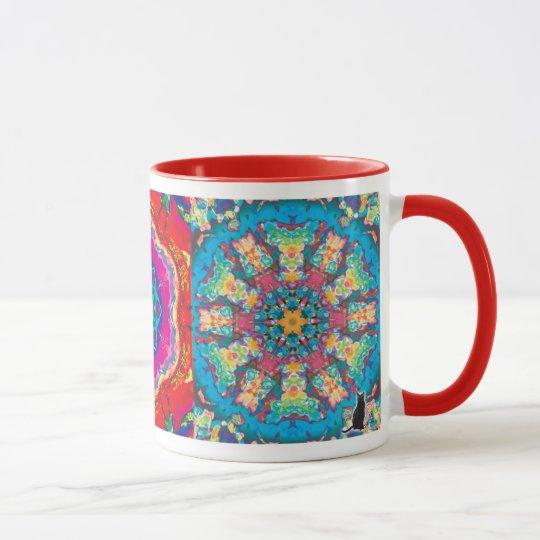 Kinetic Collage Kaleidoscope Mug