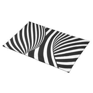 Kinetic Illusion Art Place Mat