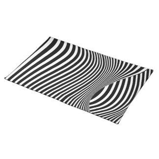 Kinetic Illusion Art Place Mats
