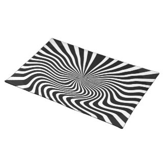 Kinetic Illusion Art Placemat