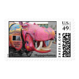 Kinetic Sculpture Race, Hippypotamus Stamp