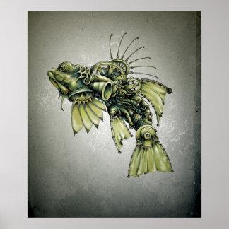 Kinetic Seafood Posters