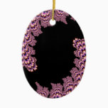 Kinetical - Mandelbrot Art Ceramic Ornament