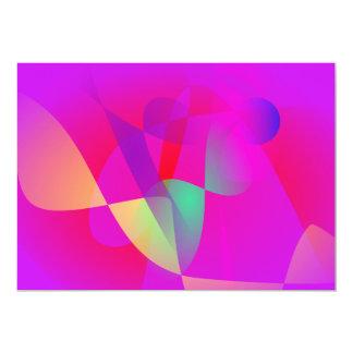 Kinetics Vivid Pink Card