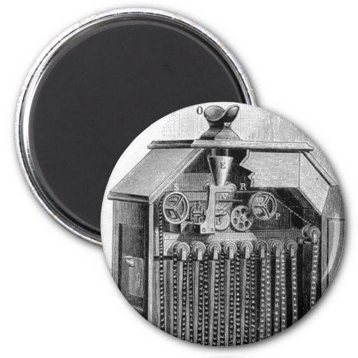 Kinetoscope Diagram 2 Inch Round Magnet