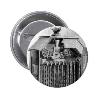 Kinetoscope Diagram Pinback Button