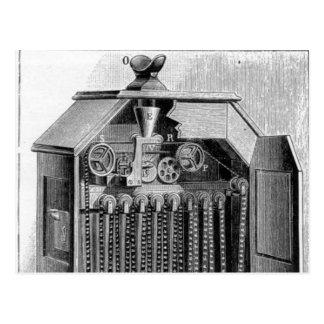 Kinetoscope Diagram Postcard